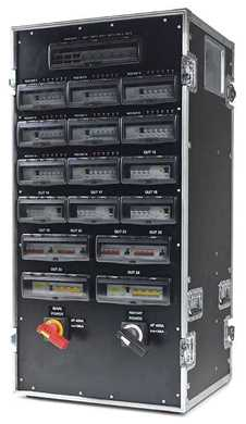 Picture for category Flight Case Power Distribution Boxes