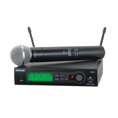 Picture for category Wireless Microphones With Handheld Microphone