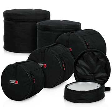 Picture of Gator GP-STANDARD-100 Standard Drums Bags (5 Items)