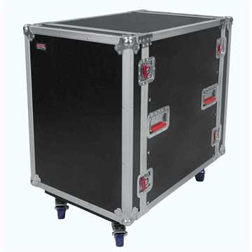 Picture of Gator G-TOUR16UCA-24D Audio Road Rack Case 16U with Casters