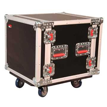 Picture of Gator G-TOUR 10U CAST Standard Audio Road Rack 10U with Casters