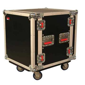 Picture of Gator G-TOUR 12U CAST Standard Audio Road Rack 12U with Casters