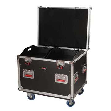 Picture of Gator G-TOURTRK302212 Truck Pack Trunk with Dividers and Casters