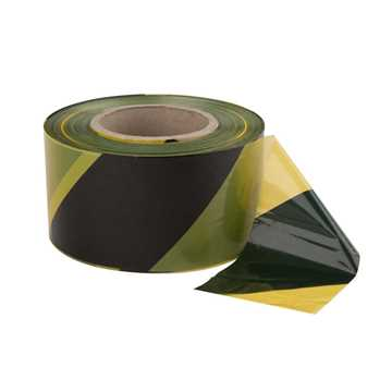 Picture of Le Mark Hazard Barrier Tape - Yellow / Black