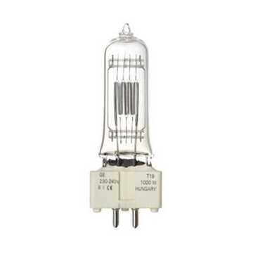 Picture of GE 88457 T19 Halogen Lamp 1000W