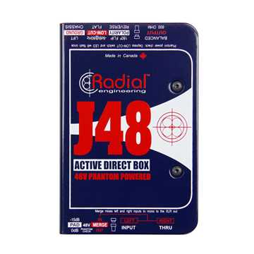Picture of Radial J48 Active DI Box