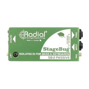 Picture of Radial SB-2 Stagebug Passive DI Box