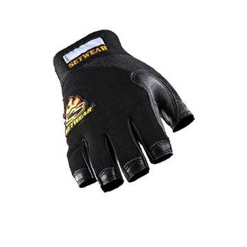 Picture of Setwear Leather Fingerless Gloves (S)