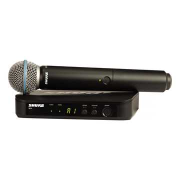 Picture of Shure BLX24E/B58 Handheld Wireless System