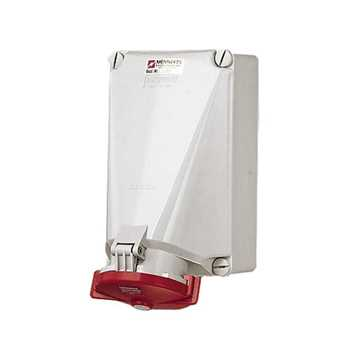 Picture of Mennekes CEE 143 Wall Receptacle