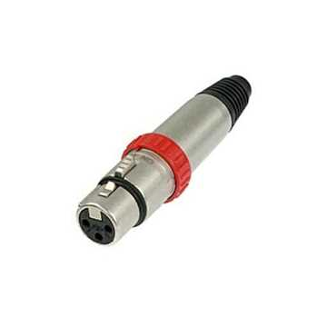 Picture of Neutrik NC3FXS 3 Pole Female XLR Connector
