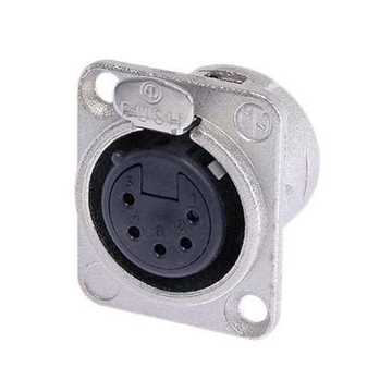 Picture of Neutrik NC5FD-L-1 5 Pole Female XLR Receptacle