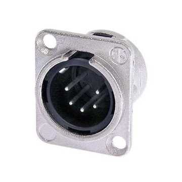 Picture of Neutrik NC5MD-L-1 5 Pole Male XLR Receptacle