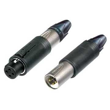 Picture of Neutrik NC3FM-C 3 Pole Unisex XLR Connector