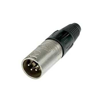 Picture of Neutrik NC4MX 4 Pole Male XLR Connector