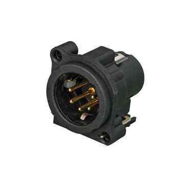 Picture of Neutrik NC5MAV-SW 5 Pole Male XLR Receptacle