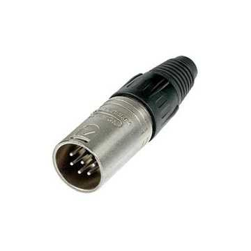 Picture of Neutrik NC6MX 6 Pole Male XLR Connector