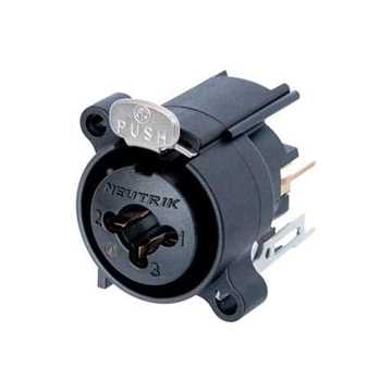 "Picture of Neutrik NCJ6FA-V 3 Pole XLR Female / 1/4"" Jack Receptacle"