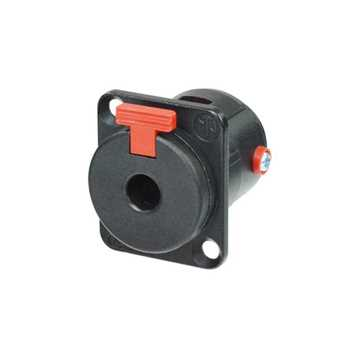 "Picture of Neutrik NJ3FP6C-B 3 Pole Female 1/4"" Jack Receptacle"