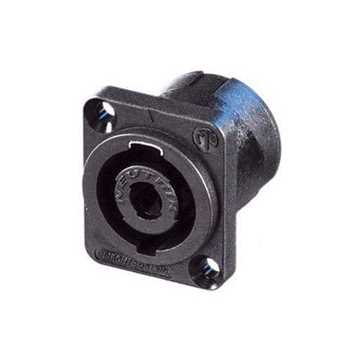 Picture of Neutrik NL4MP 4 Pole Male Speakon Receptacle