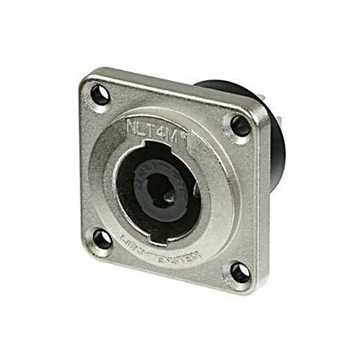 Picture of Neutrik NLT4MP 4 Pole Male Speakon Receptacle