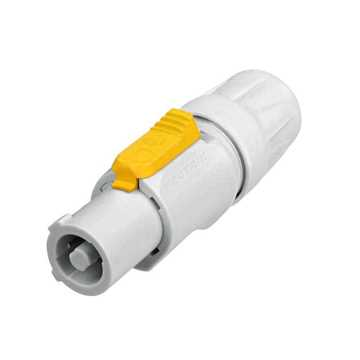 Picture of Neutrik NAC3FCB 3 Pole Female Powercon Connector