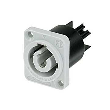 Picture of Neutrik NAC3MPB-1 3 Pole Male Powercon Receptacle