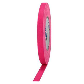 Picture of ProTapes Pro Gaff Cloth Tape 12mm x 25m - Fluorescent Pink Matte