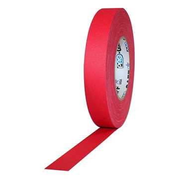 Picture of ProTapes Pro Gaff Cloth Tape 24mm x 25m - Red Matte