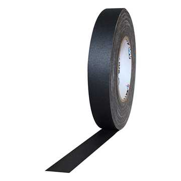 Picture of ProTapes Pro Gaff Cloth Tape 24mm x 25m - Black Matte