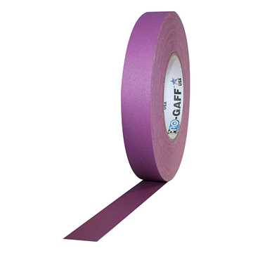 Picture of ProTapes Pro Gaff Cloth Tape 24mm x 25m - Purple Matte