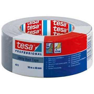 Picture of Tesa 4613 Utility Duct Tape - Silver