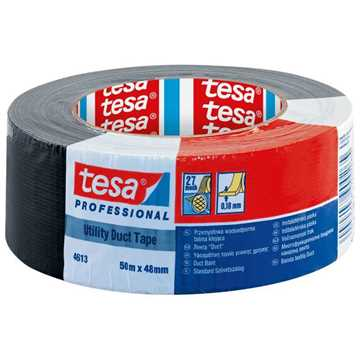 Picture of Tesa 4613 Utility Duct Tape - Black