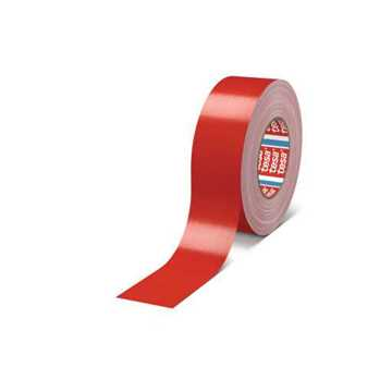 Picture of Tesa 4688 Standard PE Coated Cloth Tape - Red