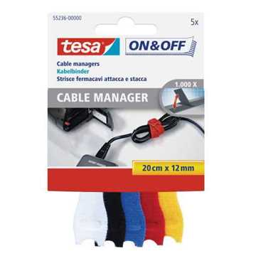 Picture of Tesa 55236 Flexible Cable Manager (5 Items)