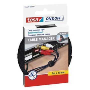 Picture of Tesa 55239 Universal Cable Manager - Black