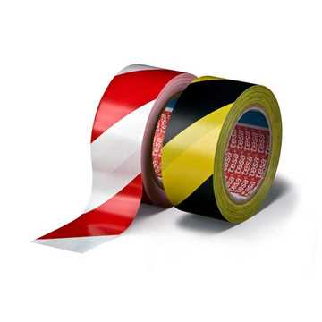 Picture of Tesa 60760 Marking Tape - White / Red