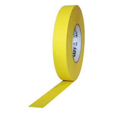 Picture of ProTapes Pro Gaff Cloth Tape 24mm x 25m - Yellow Matte