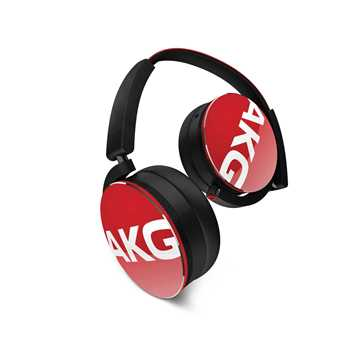 Picture of AKG Y50 Headphones - Red