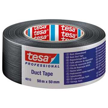 Picture of Tesa 4610 Basic Duct Tape - Black