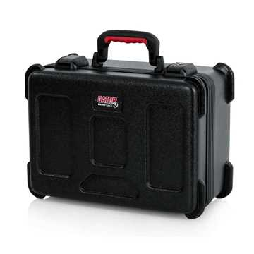 Picture of Gator GTSA-MIC15 TSA ATA Molded Case with Drops for 15 Mics