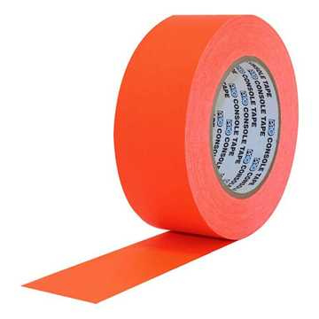 Picture of ProTapes Pro Console Paper Tape 24mm x 55m - Fluorescent Orange Matte