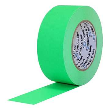 Picture of ProTapes Pro Console Paper Tape 24mm x 55m - Fluorescent Green Matte