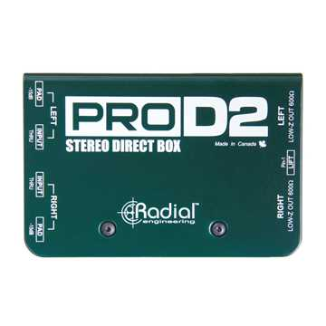 Picture of Radial ProD2 Passive DI Box