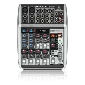 Picture of Behringer QX1002 USB Xenyx Analog Mixer