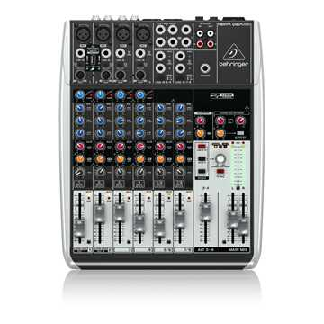 Picture of Behringer Q1204 USB Xenyx Analog Mixer