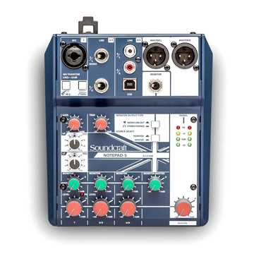 Picture of Soundcraft Notepad 5