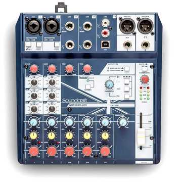 Εικόνα της Soundcraft Notepad 8FX