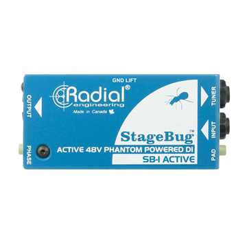 Picture of Radial SB-1 Stagebug Active DI Box