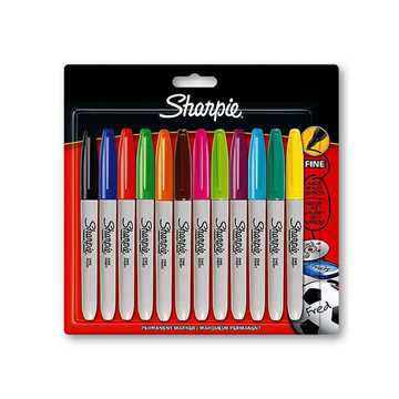 Picture of Sharpie Fine Point Markers (12 Items)